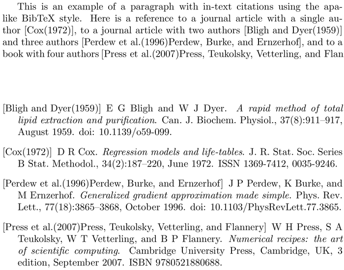 BibTeX upmplainnat bibliography style [examples] - BibTeX com
